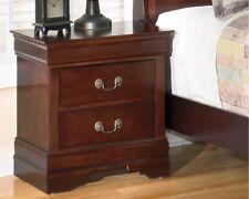cherry wood nightstand. Nightstand 2 Drawer Solid Cherry Hard Wood Bedroom Classic Decorative Molding H