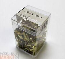Box Musterbeutelklammer für Versandumschläge geeignet 300 Stück - OVP
