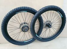 """Coyote Heathen 26"""" Wheels QR Disc Brake + Kenda Tyres - Jump Mountain BIKE Set"""