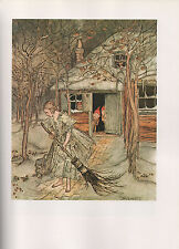 Arthur Rackham Print  - Tales By The Brothers Grimm