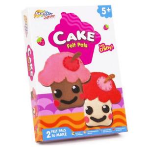 GRAFIX JUNIOR CRAFT KITS CREPE PAPER ART/CAKE FELT PALS CREATIVE TOYS GIFTS KIDS