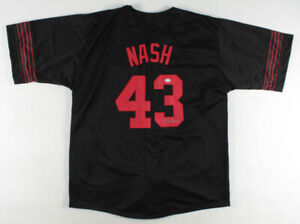 Kevin Nash Signed NWO Jersey (PSA COA) WCW World Heavyweight Champion 1999-2001