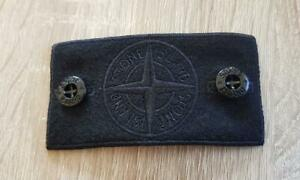 Stone Island badge Ghost Black  + 2 buttons