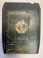 A New World Record 8 Track 1976 Tape Electric Light Orchestra ELO