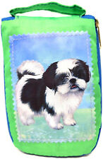 Shih Tzu Foldable Tote Bag - Durable, Waterproof - Zipper Market Tote