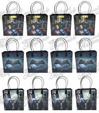 DC Comics Batman v Superman Party Favor Supplies Goody Loot Gift Bags [12ct]