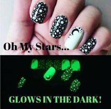 Color Street OH MY STARS (Moon Night Sky Glow in the Dark Black Halloween)