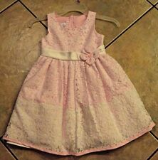 "UC! Beautiful Girls ""Jessica Ann"" white/pink flower dress Size 5 SUMMER"