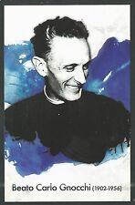 Estampa del Beato Carlo andachtsbild santino holy card santini