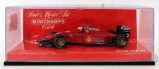 Coches de carreras de automodelismo y aeromodelismo MINICHAMPS Ferrari