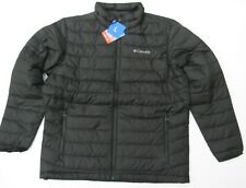 Columbia Men Trail Puffer Thermal Coil Jacket color Black Size Large