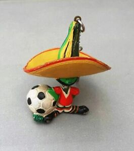 1986 FIFA World Cup MEXICO Official PIQUE MASCOT FIGURE KEYCHAIN Mexico86 No3
