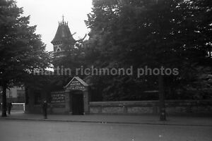 Crystal Palace High Level Station Exterior 13.7.54 Railway Negative RN110