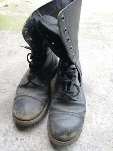 Bottes de saut / chaussures idéales mannequin parachutiste US ww2
