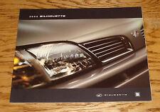Original 2002 Oldsmobile Silhouette Deluxe Sales Brochure 02