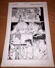 BALL AND CHAIN ORIGINAL ART PAGE BY ALE GARZA SPLASH PAGE DC HOMAGE COMICS #9 Comic Art