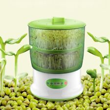 Auto Household 2 Layers Bean Seed Cereal Sprouts Machine Large Capacity 220V New