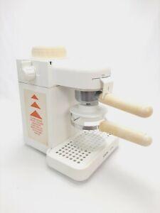 Krups IL Primo 972 Coffee Espresso Cappuccino Maker 4 Cup Used White - TESTED
