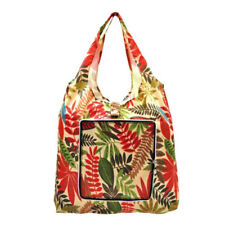 Everyday Deal Klein Travel Women Eco Shopping Bag Tote Handbag Pouch (Leaves)