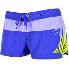 Adidas boardshort señora chica badeshorts bañador shorts hot pants azul/púrpura