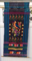 tapestry wall hanging Brazilian - Colorful Birds  Scene