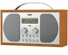 Bush Bluetooth DAB FM Wooden Radio (B+)