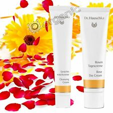 Dr Hauschka Essentials Bundle - Cleansing Cream + Rose Day Cream NEW Long Date