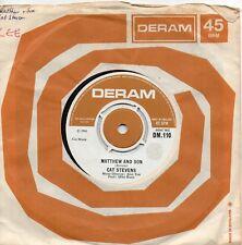 CAT STEVENS    MATTHEW & SON / GRANNY    UK DERAM     60s POP