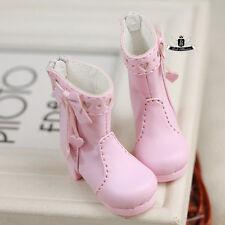 Yosd Lolita Shoes 1/6 BJD Shoes Dollfie DOD Luts Dollmore AOD DZ Pink Shoes 0316
