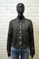 RALPH LAUREN Giacca in Jeans Grigio Taglia Size L Giubbino Jacket Women Casual