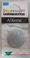 "ImpressArt Metal Stamps Soft Strike Stamping Blanks - Two 1 1/4"" Alkeme Circles"
