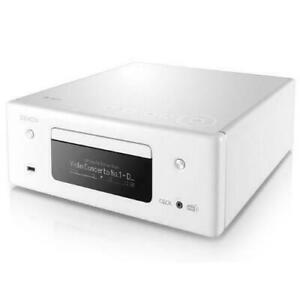 DENON RCD-N11DAB CEOL N11 DAB WHITE AMPLIFICATORE HEOS con DAB+ e FM Lettore CD