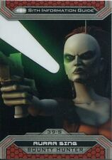 Star Wars Chrome Perspectives II Base Card 39-S Aurra Sing