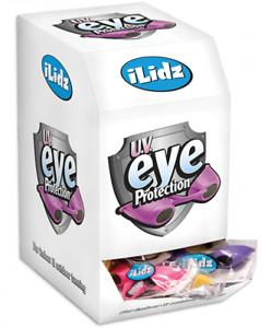 iLidz Flexible Uv Eye Protection Indoor & Outdoor Sunbed UseTanning Goggles