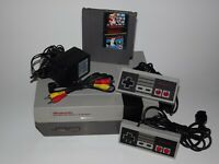 Original Nintendo NES System Console NEW 72 PIN & Super Mario Bros/ Duck Hunt