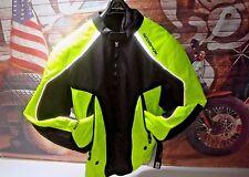 Scorpion Hi- Night Viz EXO Velocity Jacket Fleece Liner Black Yellow Large HB