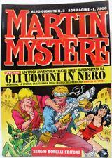 """MARTIN MYSTÈRE albo gigante n° 3 """"Gli uomini in nero"""" ottobre 1997 ottimo"""