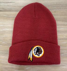 WASHINGTON REDSKINS NFL FOOTBALL TEAM NEW ERA KNIT BEANIE WINTER CAP HAT