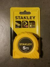 STANLEY TOOLS 5M X 19MM TAPE MEASURE TAX INVOICE SUPPLIED
