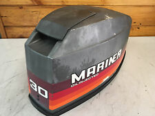 1989 Mariner 30 HP Outboard Hood Top Cowl Cowling Shroud Freshwater MN