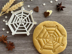 Spider Web Cookie Cutter 01 | Cobweb | Fondant Cake Decorating | UK Seller