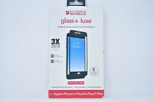 ZAGG INVISIBLE SHIELD Glass Luxe Screen Protector for iPhone 6s Plus 7 Plus