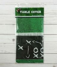 Plastic Tablecloth Tablecover Party 54x96 Football Superbowl Tailgate