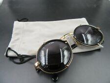 Original Vintage Cazal 644 Sunglasses in Black/Gold