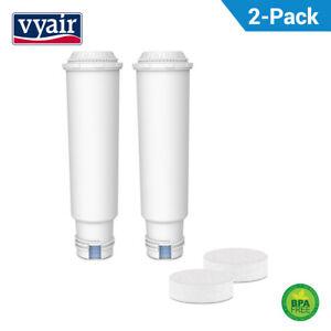 2 Sostituzione Filtro Dell'acqua per Krups Claris + Compresse Per la Pulizia