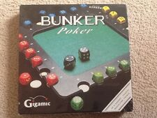 New Bunker Poker Board Game Gigamic France Sealed 1999 8+ 2-4 players