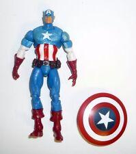 Marvel Universo Capitán América Hasbro Figura Sdcc 70 Años Completo 2009