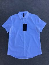 LULULEMON Down to the Wire SS Shirt Mens Shirt Color White NEW w/Tags $98