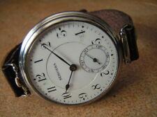 Extra Rare SEIKOSHA Chronometer Gents Wrist Watch Superior Quality Mov. 1930s