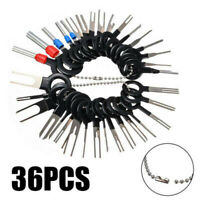 36pcs Car Terminal Removal Kit Wiring Crimp Connector Pin Extractor Puller Tool